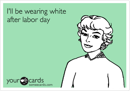Yes You Can Wear White After Labor Day Dressed To A T